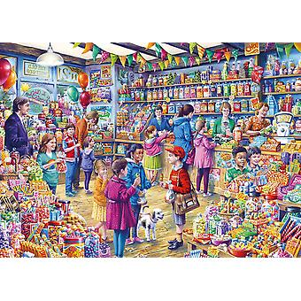 Gibsons The Old Sweet Shop Jigsaw Puzzle (500XL Pièces)
