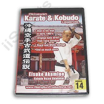 Karate kobudo de Okinawa #14 Dvd Akamine Hozon Shinkokai -Vd6971A
