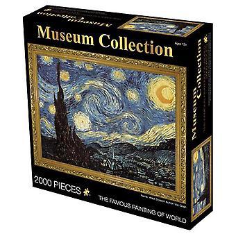 油絵大人のパズル教育玩具、創造的な減圧誕生日プレゼントの2000ピース