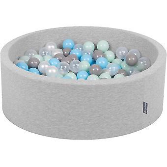 Bällebad 90X30cm/200 Bälle ∅ 7Cm Bällepool mit bunten Bällen für Babys Kinder rund,