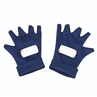 Naruto Short Cosplay Gloves Performance Costume For Adult Blue