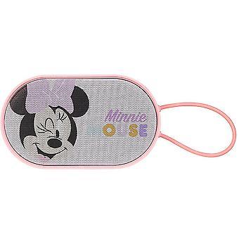 Mini altoparlante wireless per telefoni cellulari portatili cartone animato (rosa)