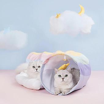 חתול צעצועים אינטראקטיביים חיות מחמד צעצועים חתול מנהרת חתלתול מוצרי חיות מחמד חתול מספק דברים חתול