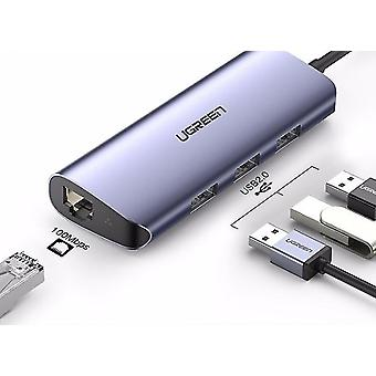 USB C HUB نوع C إلى لMacBook برو هواوي ماتي 30 USB C 3.1 المقسم منفذ نوع C HUB| محاور USB