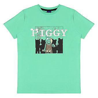 Officiële Kids Piggy T Shirt Zombie Jongens Meisjes Roblox