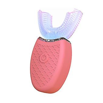 Elektrisk ultralyd tannbørste, Silikon U-formet tannbleking omsorgsverktøy, voksen elektrisk