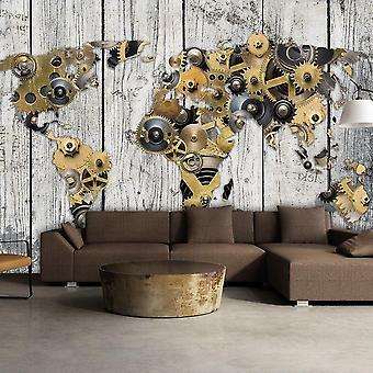 Papel de parede Globo - Mundo Mecânico