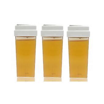 Hive Of Beauty 3 For 2 100g Warm Honey Roller Wax Cartridge Fixed Large Head