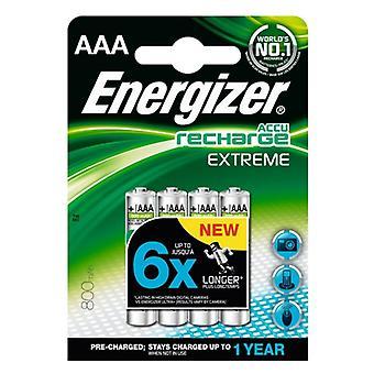 Batteries Energizer Extreme 800 mAh HR03 (4 pcs)