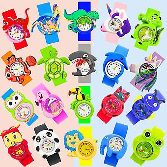Baby Klocka 3d Cartoon Kids Armbandsur