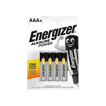 Energizer AAA Cell Alkaline Power Batteries (Pack 4) S8993