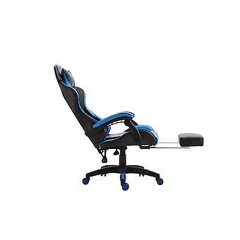 Office Chair - Desk Chair - Home Office - Modern - Black - Plastic - 66 cm x 58 cm x 121 cm