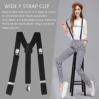 Adjustable Brace Clip-on Unisex Pants Elastic Adult Child Y-back Suspender-y