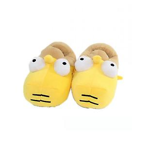 Simpsons Funny Plush Slippers Warm Winter Indoor