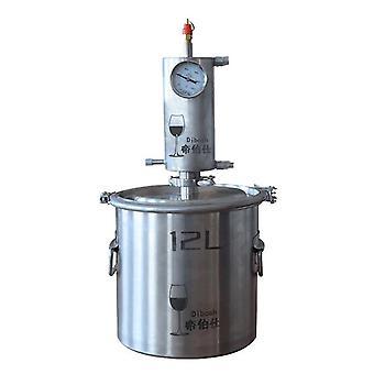 12/20l 304 Stainless Steel Water Spirits Alcohol Moonshine Distiller Wine Whisky