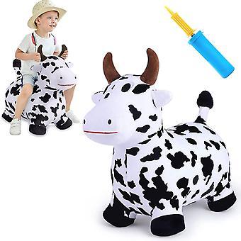 Дети 18-24 месяцев Плюшевая надувная лошадь, Корова Прыгающая Лошадь Toy, 2, 3, 4 И 5 лет