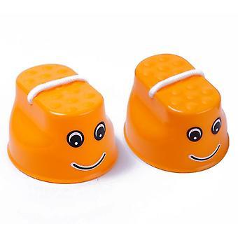 Чашка Ходьба Ходули Детская Ходячая Игровая с регулируемой веревкой Для обучения балансу