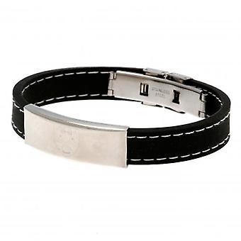 West Ham United Stitched Silicone Bracelet