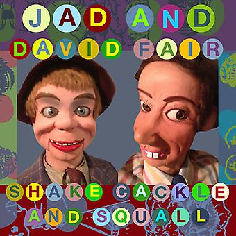 Jad Fair & David - importation USA Shake caquettent & Squall [Vinyl]