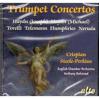Crispian Steele-Perkins - importación de Estados Unidos de seis conciertos de trompeta [CD]