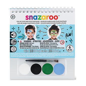 Snazaroo ansiktet Make-Up sett - en størrelse