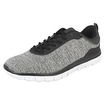 Mens Airtech Lace Up sport Trainers profiel