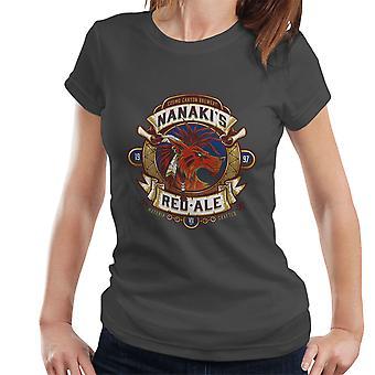 ファイナルファンタジー南海レッド フォックス XIII エール レディース t シャツ