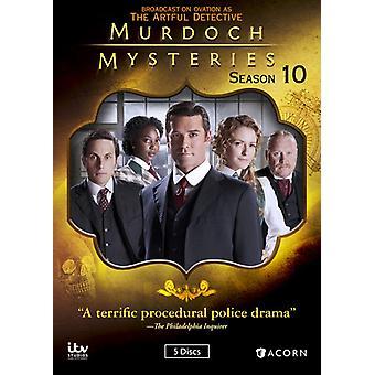 Murdoch mysterier: Sæson 10 [DVD] USA import