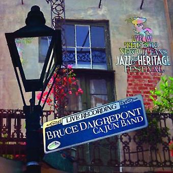 Bruce Daigrepont - Live at Jazzfest 2013 [CD] USA import