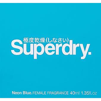 Superdry Neon Blue Eau de Toilette 40ml EDT Spray