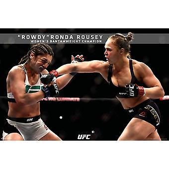 UFC - Ronda Rousey - UFC 190 juliste Juliste Tulosta