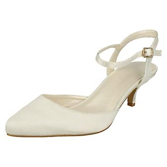 Anne Michelle Buckle Up Ankle Strap Party Shoe