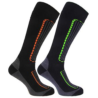 Mens Ski Socks (Pack Of 2)