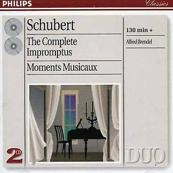 Alfred Brendel - Schubert: Complete Impromptus; Moments Musicaux [CD] USA import