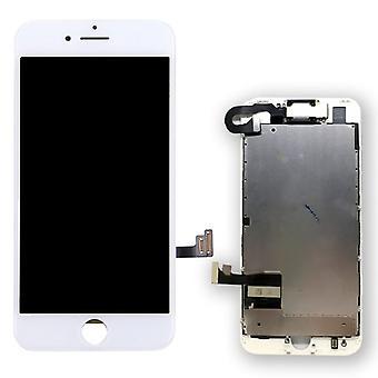 All in One Display LCD Komplett Einheit Touch Panel für Apple iPhone 7 4.7 Zoll Weiß Vormontiert
