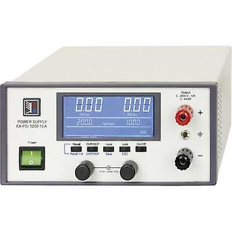 EA Elektro-Automatik EA-PSI 5080-10 A Penkki PSU (säädettävä jännite) 0 - 80 V DC 0 - 10 A 320 W USB, Ethernet, Analoginen nro. lähtöistä 1 x