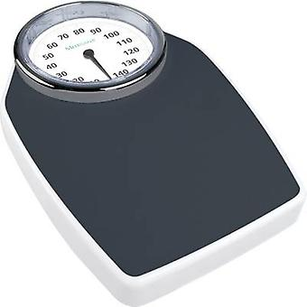 Medisana PSD Analog bathroom scales Weight range=150 kg Black/white