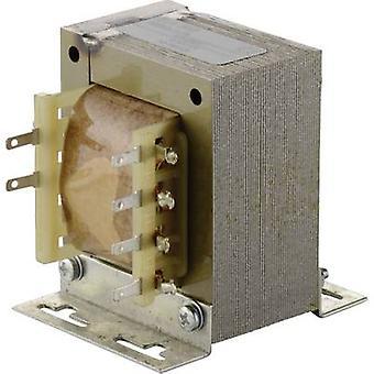 Elma TT IZ 61 universele lichtnet transformator 1 x 230 V 2 x 12 V AC 40,8 VA 1,70 A