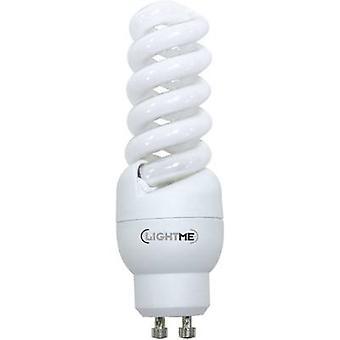 LightMe Energy-saving bulb EEC: A (A++ - E) GU10 101 mm 230 V 9.5 W = 51 W Warm white Spiral shape 1 pc(s)