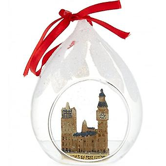 Union Jack indossare case di Parlamento decorazione albero di Natale