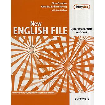 New English File: Upper-Intermediate: Workbook: Six-level general English course for adults: Workbook Upper-intermediate l (Paperback) by Oxenden Clive Latham-Koenig Christina