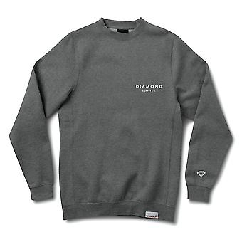 Crewneck coupe Pierre diamant Supply Co. Charcoal Heather