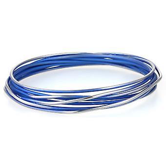 Ti2 כאוס טיטניום טווח צמיד-כחול כהה