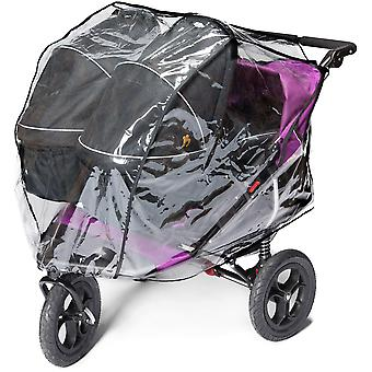Out'n'About XL Raincover Double- Carry Cot