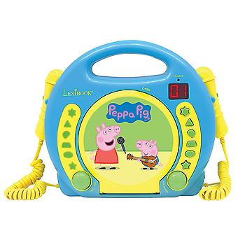 Lexibook Peppa Pig CD Player Karaoke (modelo no. RCDK100PP)