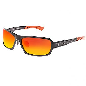 Breed Cosmos Aluminium Polarized Sunglasses - Black/Red-Yellow