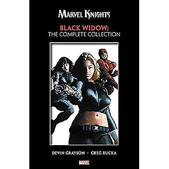 Marvel Rycerzy: czarna wdowa przez Grayson & Rucka - Pełna kolekcja