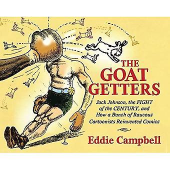 Die Ziege Getter: Jack Johnson, der Kampf des Jahrhunderts, und wie ein Bündel von rauhen Karikaturisten Comics neu erfunden