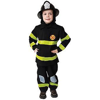 Fantasia infantil de bombeiro corajoso