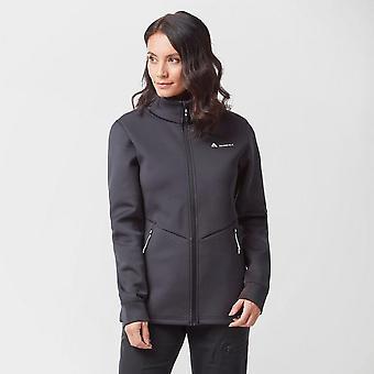 Nouveaux techniques Femmes-apos;s Velocity Embossed Full Zip Jacket Black